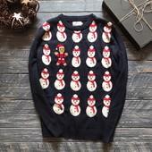 Мужской новогодний свитер Tu р-р Хл