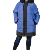 Куртка зима большой размер Эрика 62.64.66 (4