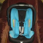 Автокресло переноска Britax-romer baby-safe plus shr II ocean Blue ромер