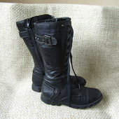 Geox р.37 чобітки високі шкіряні