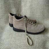 Lumberjack р.40-40.5 чобітки демі замшеві