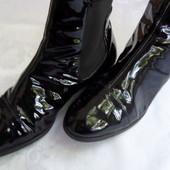Кожаные ботинки Hogl Австрия размер 38-длина стельки-24,5 см
