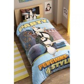 Постельное белье Tac Disney - Penguins Party 160*220 подростковое