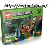 Конструктор Lepin Minecraft 18003 Домик на дереве в джунглях