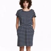 Трикотажное платье, H&M, M