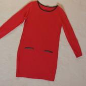Фирменное теплое трикотажное платье Cato из США