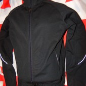 Фирменная спортивная термо  курточка флис рашгард.Crane (Крейн) м .Унисекс .