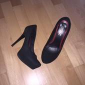 Элегантные замшевые туфли Crisma р. 37