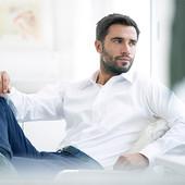 Мужская рубашка Качество! Tchibo М и L