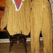 Маскарадный костюм индейца 52-54 размер