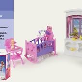 """Мебель """"Gloria"""" 24022  для детской, в кор. 31*18*5см"""