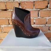 Кожаные ботинки Jessica Simpson 37.5р.