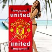 Пляжное полотенце Манчестер Юнайтед 70*140 см (2282)