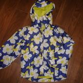 Фирменная куртка ветровка девочке 5-6 лет