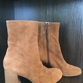 Замшевые ботинки марки Vagabond, новые, р 38