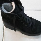 Ботинки замш зима демисезон