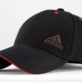 Бейсболка Black Adidas-5 cotton
