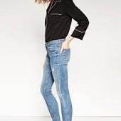 Джинси Zara з необробленим низом Розмір 38
