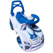 Машинка для катания Ламбо белая  021