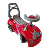 Машинка для катания Ламбо красный  021