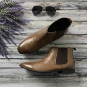Мужские ботинки-челси Kurt Geiger из винтажной кожи на тонкой подошве  SH4045