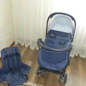 Коляска 2 в 1 Cam Combi Family + кенгуру-рюкзак в подарок