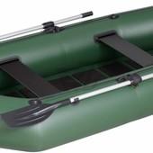Лодка надувная гребная Kolibri К-280CТ цветная или комбинированная и air-deck