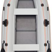 Лодка надувная моторная Kolibri КМ-330DL цветная или комбинированная и слань книжка