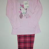 Качественная хлопковая пижама . 100% немецкое качество. C&A (Кунда) германия, размер на выбор