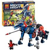 Конструктор Bela 10485 Nexo Knights аналог Лего 70312 Ланс и его механический конь 249 деталей