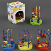 Пальчиковый лабиринт в ассортименте, Wooden Toys (555-181)