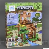 Детский конструктор Minecraft 0516, 410 деталей