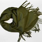 Мужской шарф Шерлок зеленый
