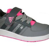 Кроссовки кожа Adidas ор-л деми(28 размер)