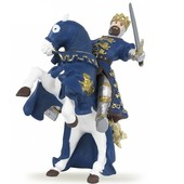 Papo набор фигурок Король Ричард синий и его лошадь конь