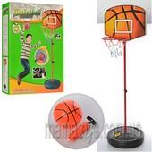 Баскетбольное кольцо M 2993на стойке, мяч, насос