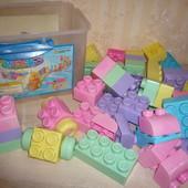 Конструктор Лего большие детали для самых маленьких  42 блока