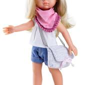 Кукла Paola Reina Клаудия с сумочкой 32см. (04441)
