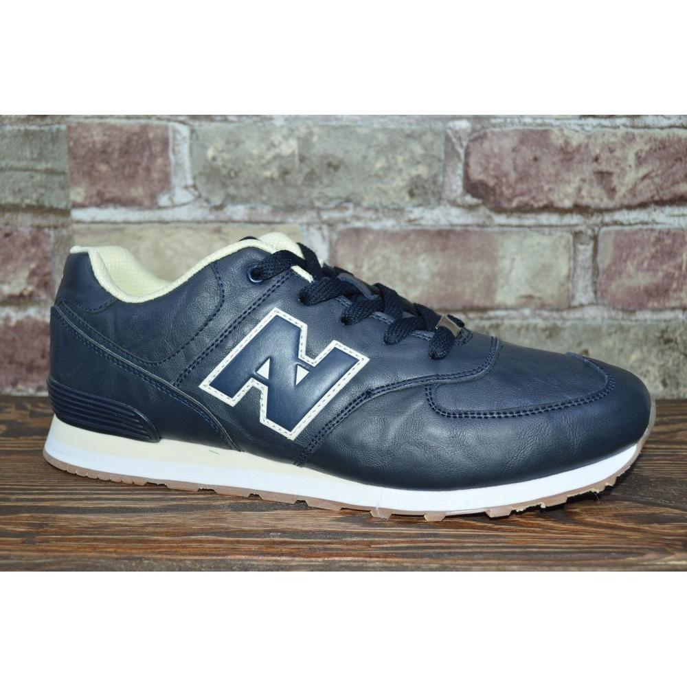 Мужские кроссовки синие фото №1