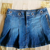 Юбка джинсовая  Vero Moda плотная европ. р.40, XS, наш 42
