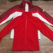 качественная деми термо-куртка 3 в 1, р.48
