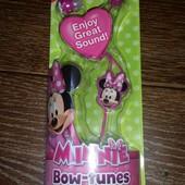 Новые наушники для телефона Disney Minnie Mouse из Америки