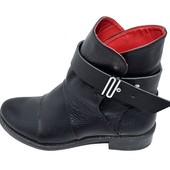 Ботинки женские кожа зимние Crisma Stael 0019