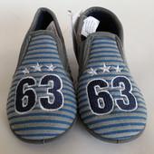Теплі тапочки для хлопчиків 23-24р від фірми Prenatal Італія