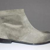 Кожа.фирма.качество.стильные ботинки Kennel & Schmenger 39.5 р кожа везде