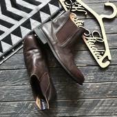 Кожаные мужские ботинки челси Toggi р-р 45-46