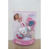 Интерактивная Соска с кроликом для куклы Baby Born 819258K