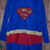 Пижама-слип флисовая,мужская, размер L, рост до 185 см
