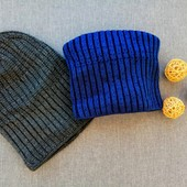 шапочка для взрослых на флисе и подростков