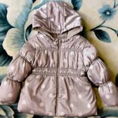Курточка Old Navy (Олд Неви), размер 3Т (на 1,5-3 года), серая в горошек, в хорошем состоянии